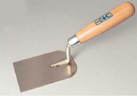 Мастерок штукатурный н/ж с деревянной ручкой 120х100