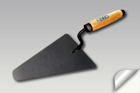 """Кельма бетонщика """"треугольник"""" деревянная ручка 175мм"""