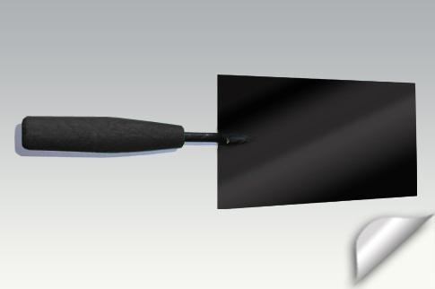 "Кельма каменщика ""трапеция"" пластмассовая ручка 180х120х105 мм"