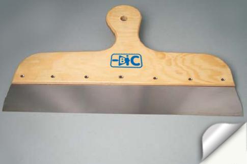 Шпатель нерж. с деревянной ручкой 600/500/400 мм